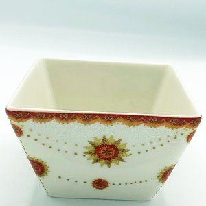 222 Fifth Constantina Red Square Appetizer Bowl